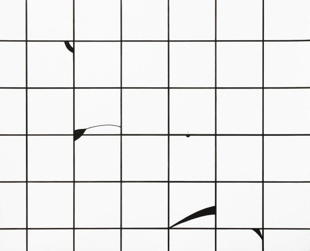 Composition01, ink on paper, 49,8x61cm, 2014