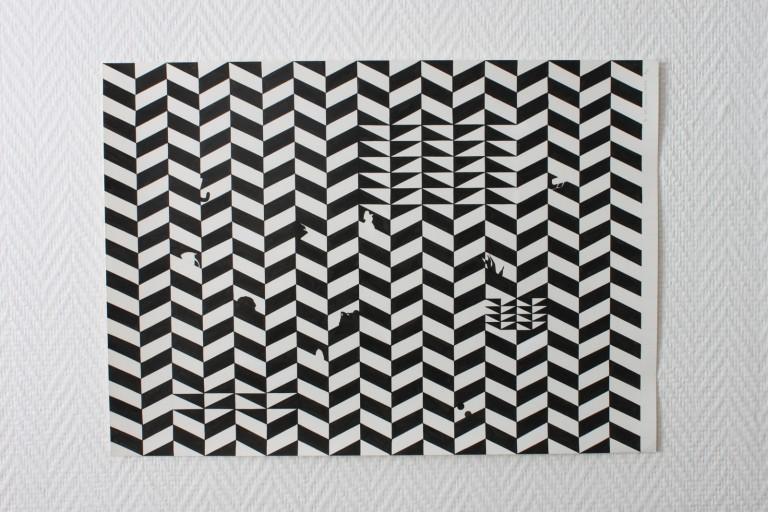 Essai, ink on paper, 37.5x52.5, 2013
